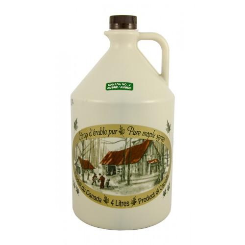 Чистый кленовый сироп №2 Янтарный - 4 л (5,28 кг)