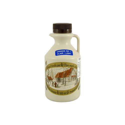 Чистый кленовый сироп №1 Светлый - 500 мл (660 г)
