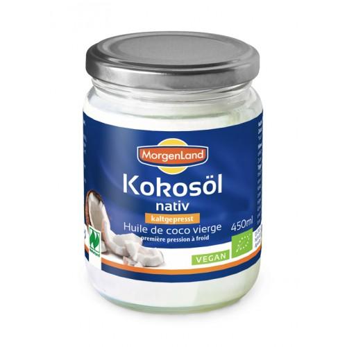 Масло кокосовое нерафинированное холодного отжима (virgin) 450 мл
