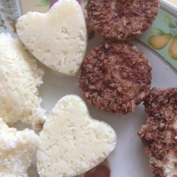 Кокосовые конфеты с кленовым сиропом