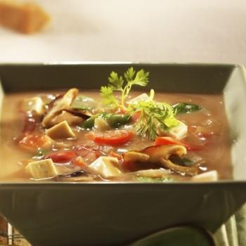 Восточный суп с кленовым сиропом
